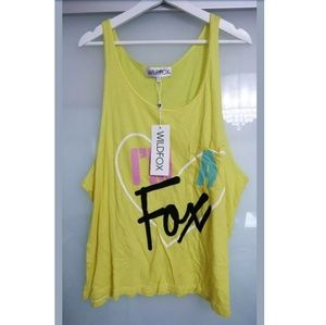 Wildfox Tops - Wildfox Tank Top Size Large